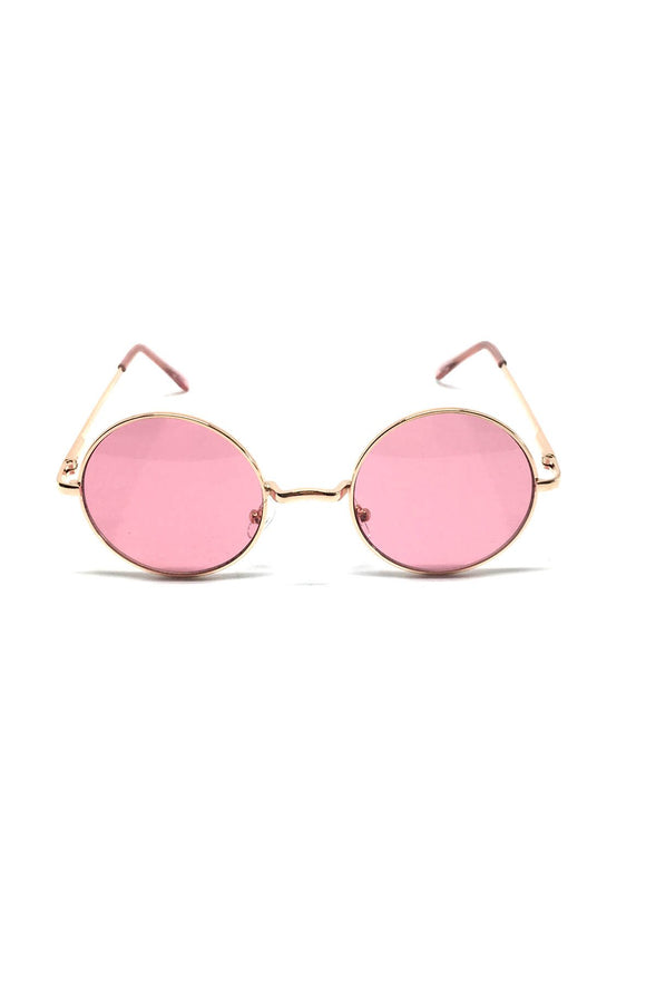 The Lennon Sunglasses in Pink