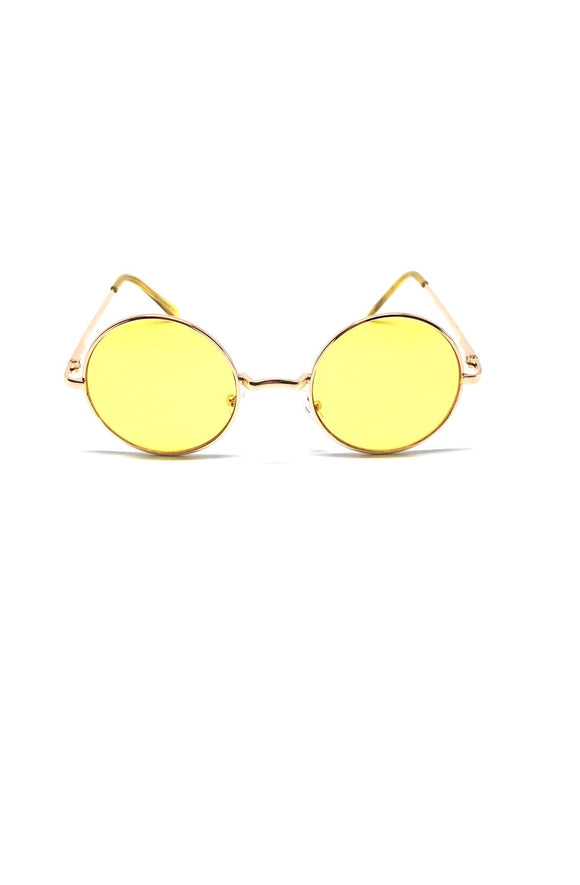The Lennon Sunglasses in Yellow