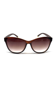 The Louise Sunglasses in Light Brown