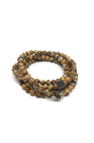 Picture Jasper Chakra Stone necklace/bracelet