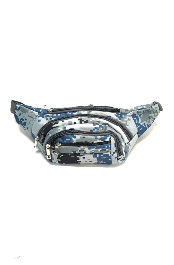 Slingbag in Blue Digital Camo