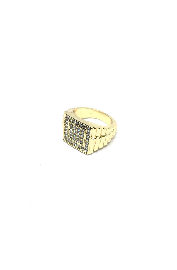 Square Steps Ring