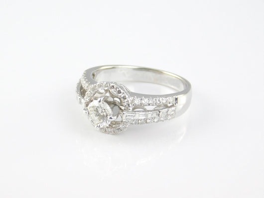 Vintage Round Diamond Ring, 0.5ct