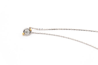Elegant .48 ct Diamond Necklace