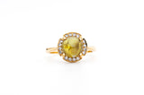 Cat's Eye Beryl Ring