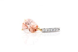 Pear-shaped Morganite Pendant