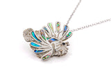 Lionfish Abalone Necklace