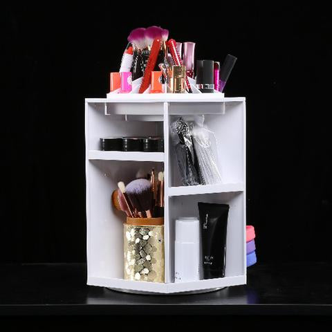 03b8fee525 This makeup organizer is the best and easiest to use for all of your makeup  needs! Fit perfectly on your desk or vanity