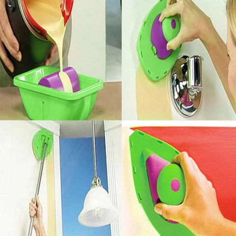 Easy Painting Roller and Sponge Set