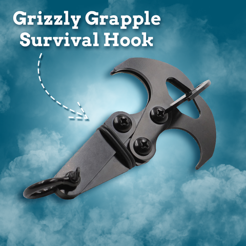 Grizzly Grapple Survival Hook