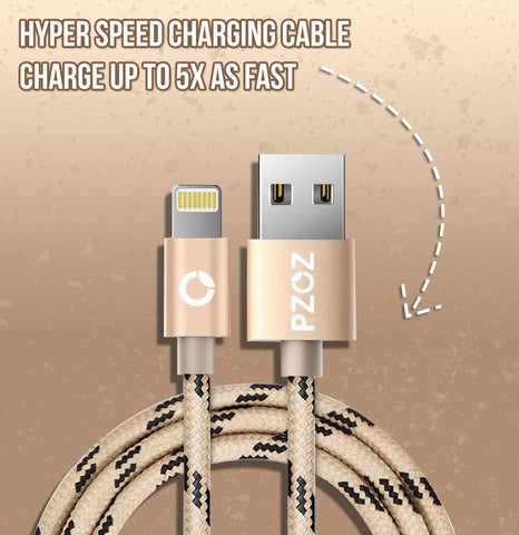 Hyper Speed Charging Cable - Charge up to 5X as fast
