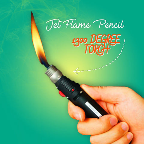 Jet Flame Pencil - 1300 Degree Torch