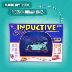 Magic Toy Truck - Rides On Drawn Lines!