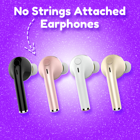 No Strings Attached Earphones