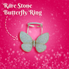 Image of Rare Stone Butterfly Ring