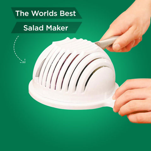 The Worlds Best Salad Maker
