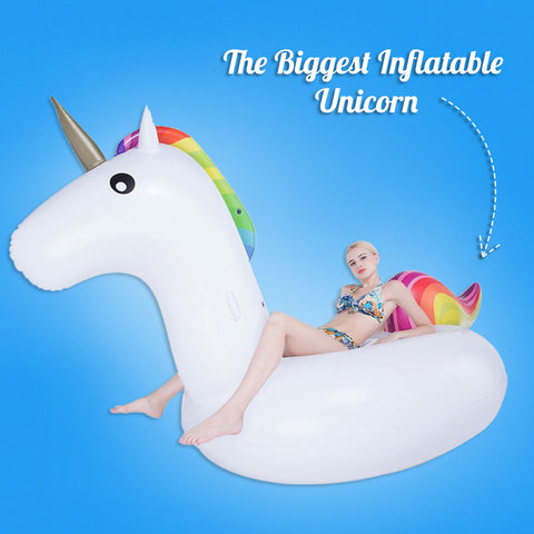 The Biggest Inflatable Unicorn