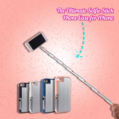 The Ultimate Selfie Stick Phone Case for iPhone