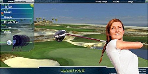 OPTISHOT 2 GOLF IN A BOX SIMULATOR PACKAGE