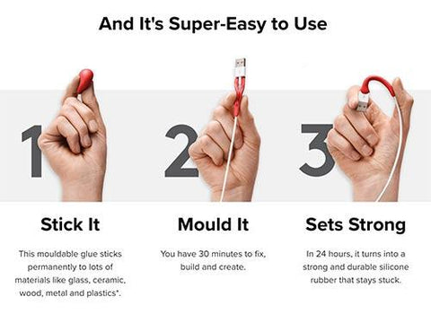 5 Pcs Moldable Magic Glue