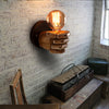 Image of Classical Resin Fist Wall Lamp