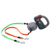 Image of Dual Retractable Dog Walking Leash - 3 M Length
