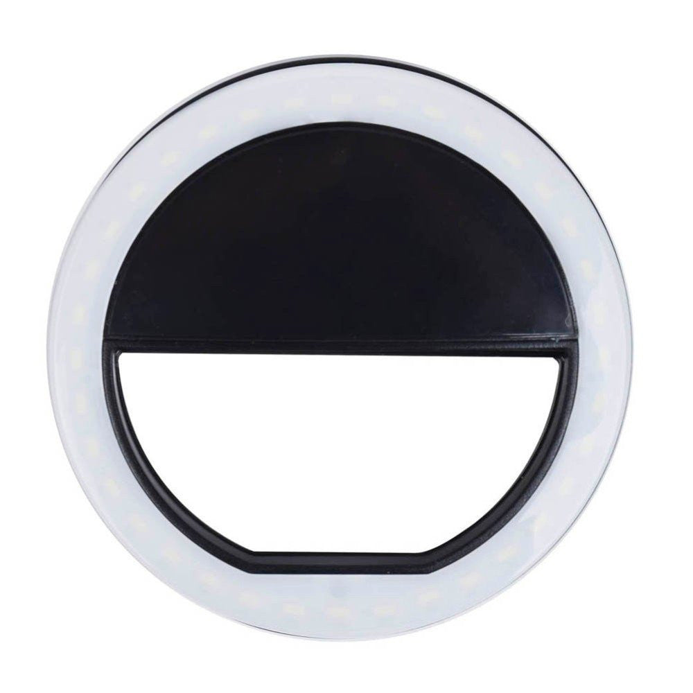 the perfect selfie led light ring thegadgetsnob. Black Bedroom Furniture Sets. Home Design Ideas