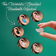 The World's Smallest Bluetooth Headset