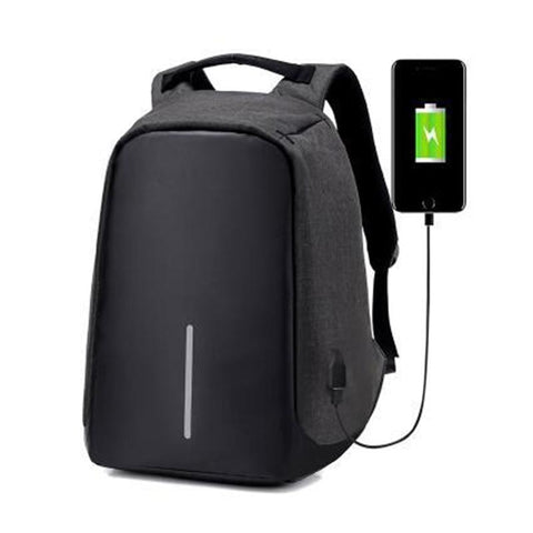 Theft Proof USB Charging Backpack