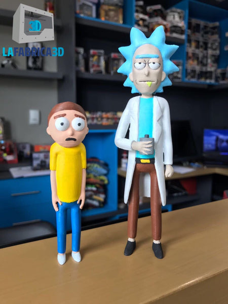 Rick and Morty 3D - La Fabrica 3D