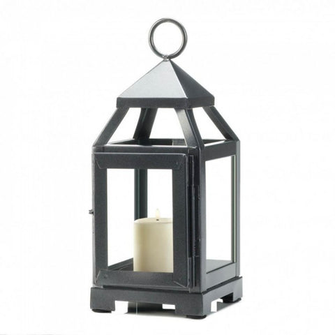 Silver Mini Contemporary Lantern