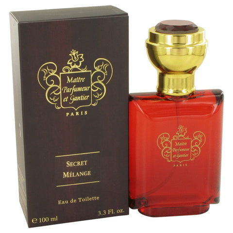 Secret Melange By Maitre Parfumeur Et Gantier Eau De Toilette Spray 3.3 Oz