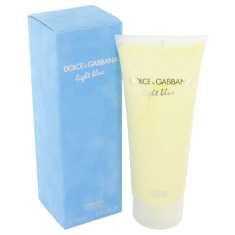 Light Blue By Dolce & Gabbana Body Gel 6.7 Oz