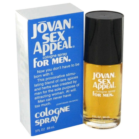Sex Appeal By Jovan After Shave / Cologne 4 Oz
