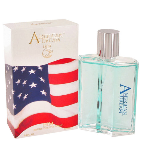 American Dream By American Beauty Eau De Toilette Spray 3.4 Oz