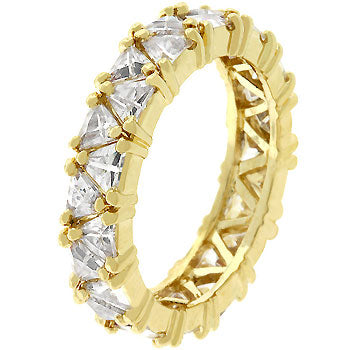 Golden Trillion Fashionista Ring