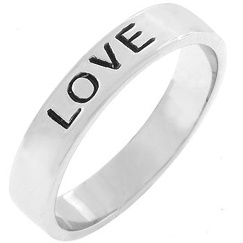 Love Fashion Band Ring