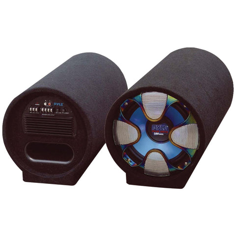 "Pyle Blue Wave Series Amplified Subwoofer Tube System (10"" 500 Watts)"