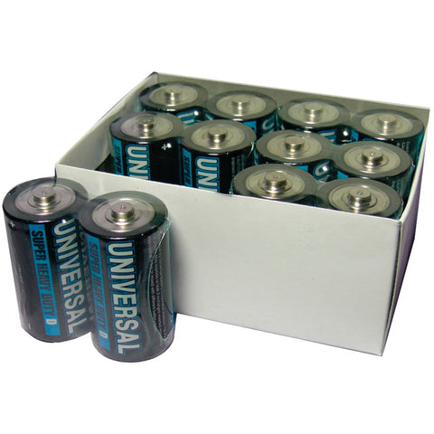 Upg Super Heavy-duty Battery Value Box (d; 12 Pk)