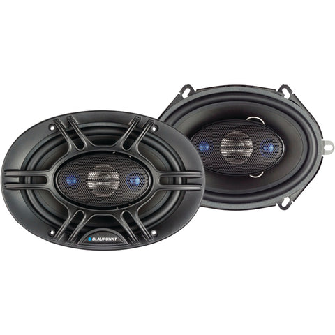 "Blaupunkt 4-way Coaxial Speakers (gtx570 5"" X 7"" 360 Watts)"