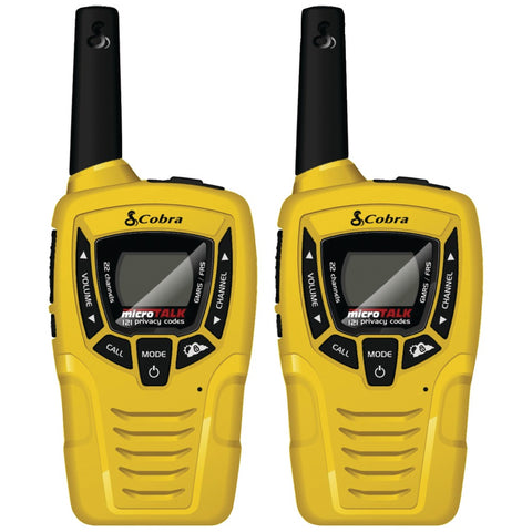 Cobra 23-mile 2-way Radios, 2 Pk