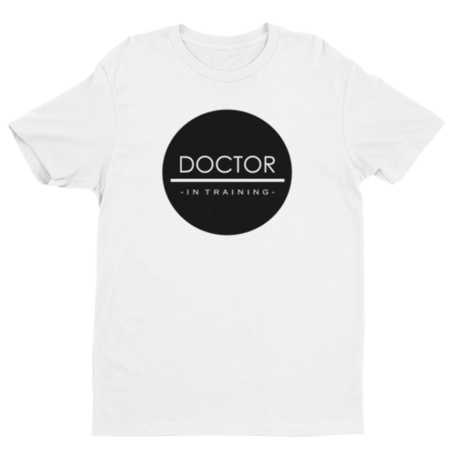 Doctor In Training - Women's Medical Boyfriend Tee - Future Professionals Apparel, LLC.