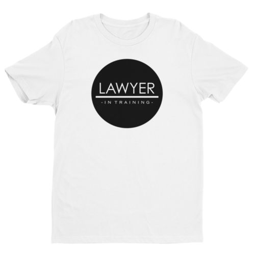 Lawyer In Training Men's Tee - Future Professionals Apparel, LLC.