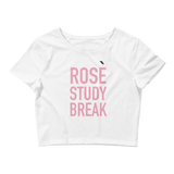 Rosè Study Break Crop Top - Future Professionals Apparel, LLC.