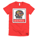 Knowledge is Beautiful - Women's Tee - Future Professionals Apparel, LLC.