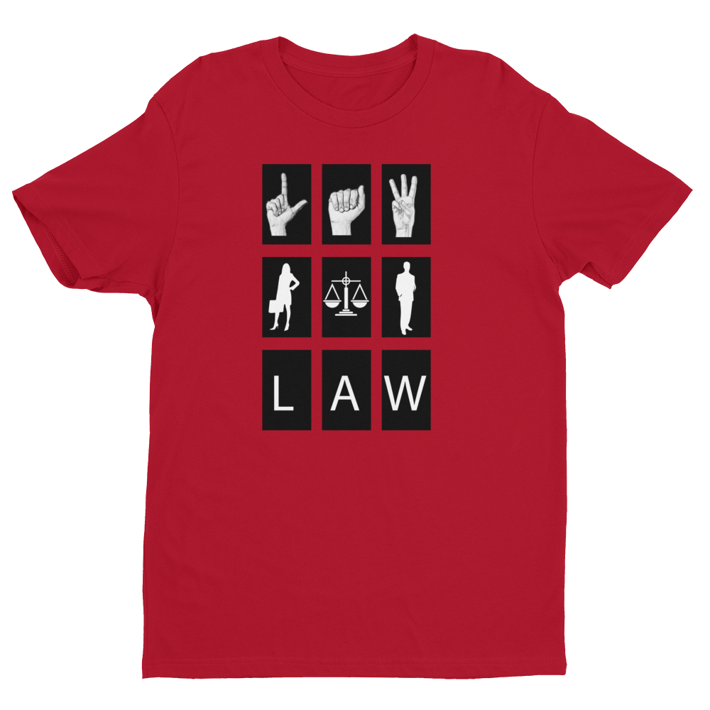 Law Sign Men's Tee - Future Professionals Apparel, LLC.
