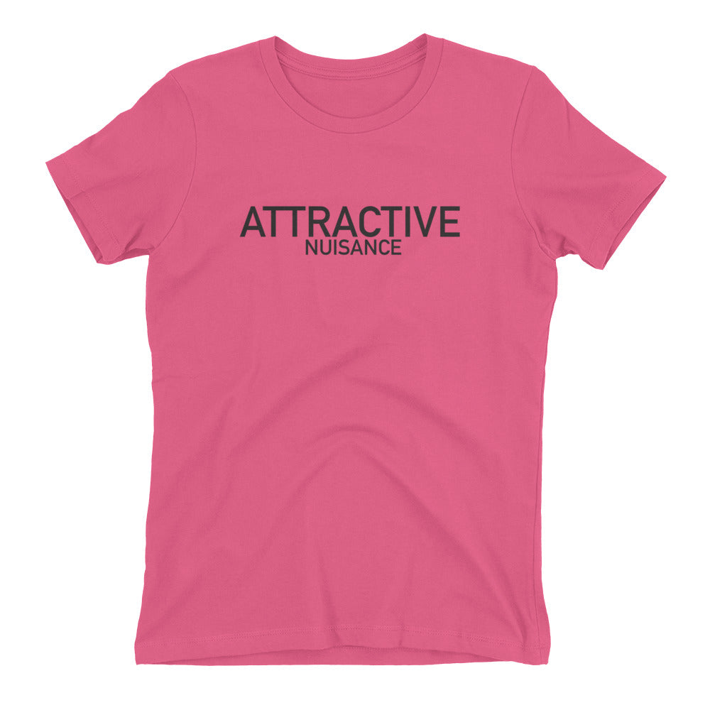 Attractive Nuisance - Women's Law Tee - Future Professionals Apparel, LLC.
