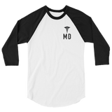 MD - 3/4 Raglan Long Sleeve Tee - Future Professionals Apparel, LLC.