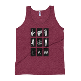 Law Sign Women's Tank - Future Professionals Apparel, LLC.