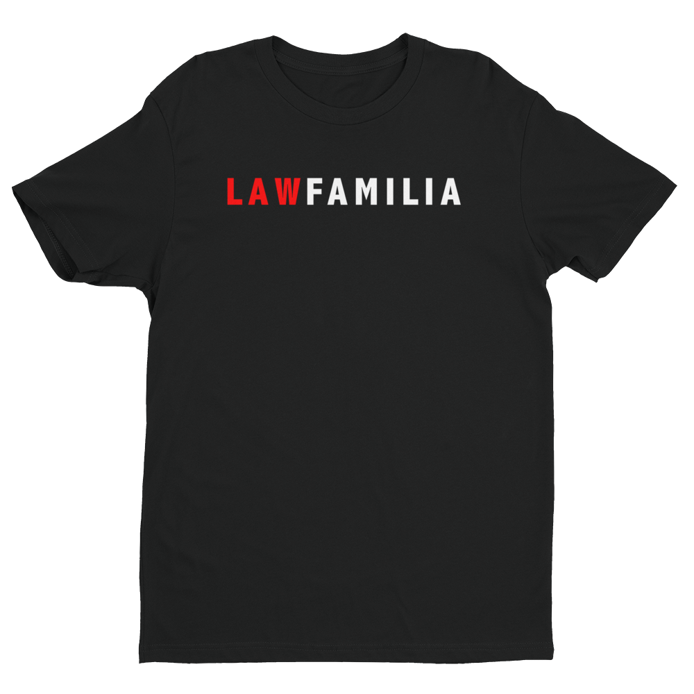 Law Familia - Men's Law Tee - Future Professionals Apparel, LLC.